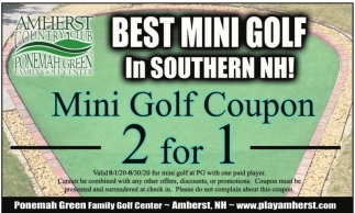 Best Mini Golf in Southern NH!