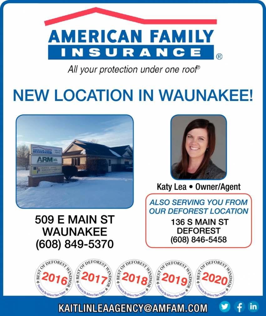 New Location in Waunakee!