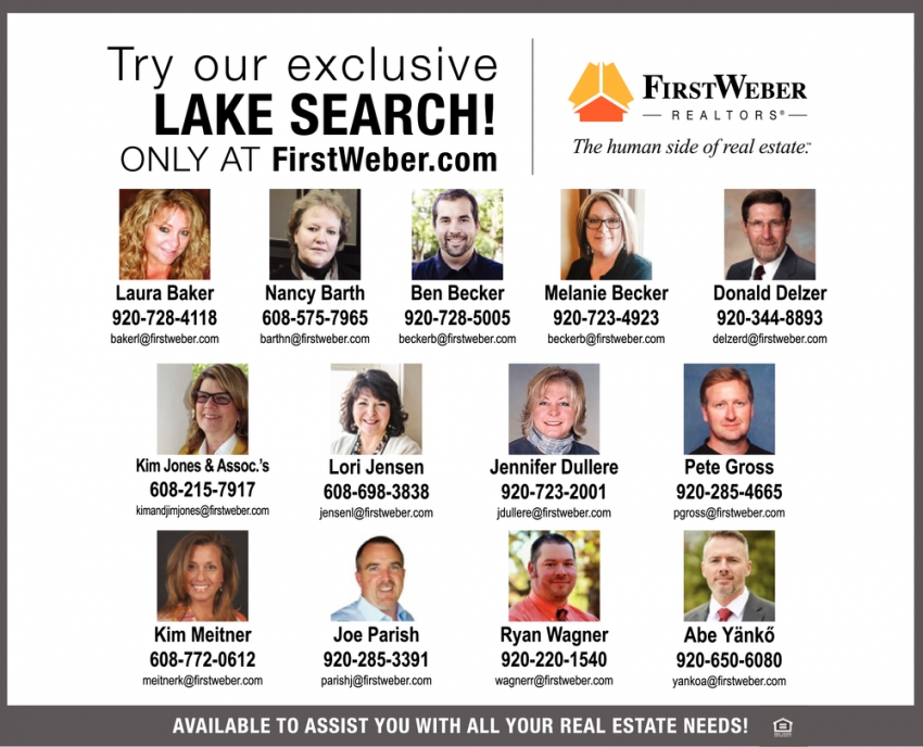 Try Our Exclusive Lake Search!