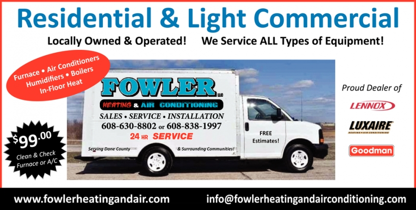 Locally Owned & Operated!
