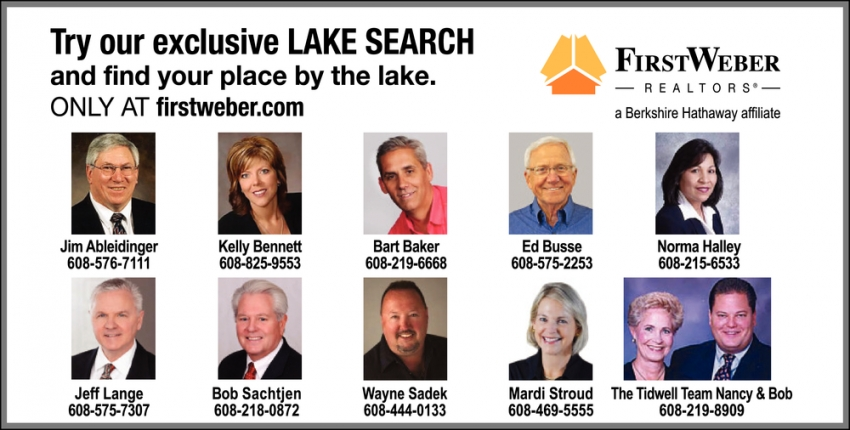 Try Our Exclusive Lake Search