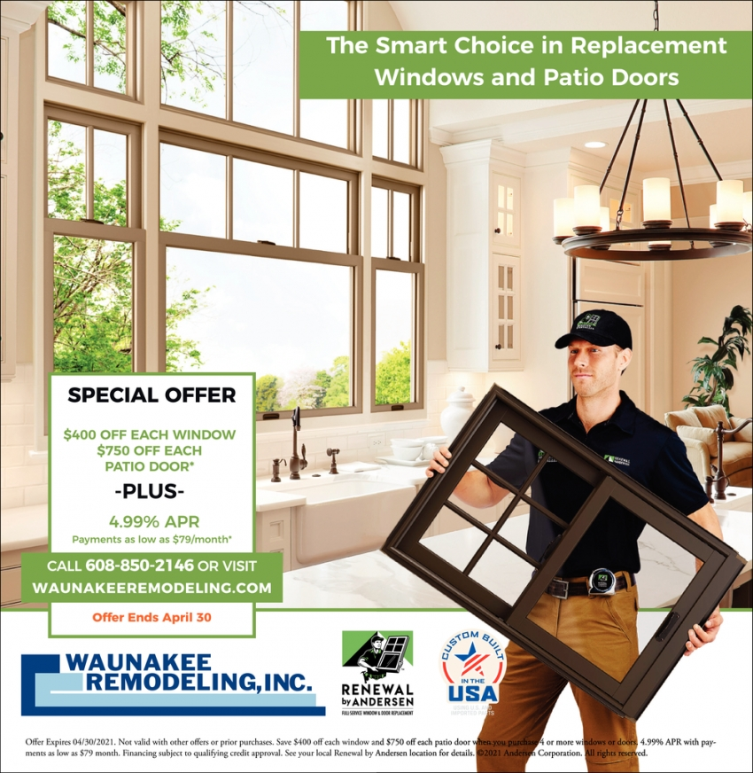 The Smart Choice in Replacement Windows and Patio Doors
