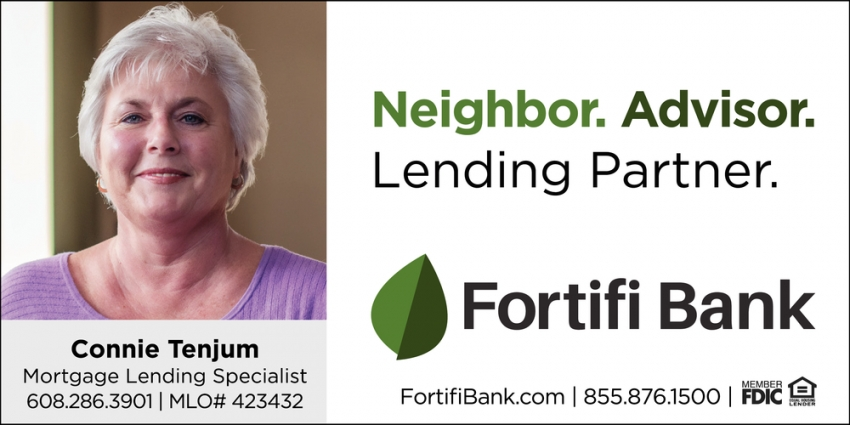Neighbor. Advisor. Lending Partner