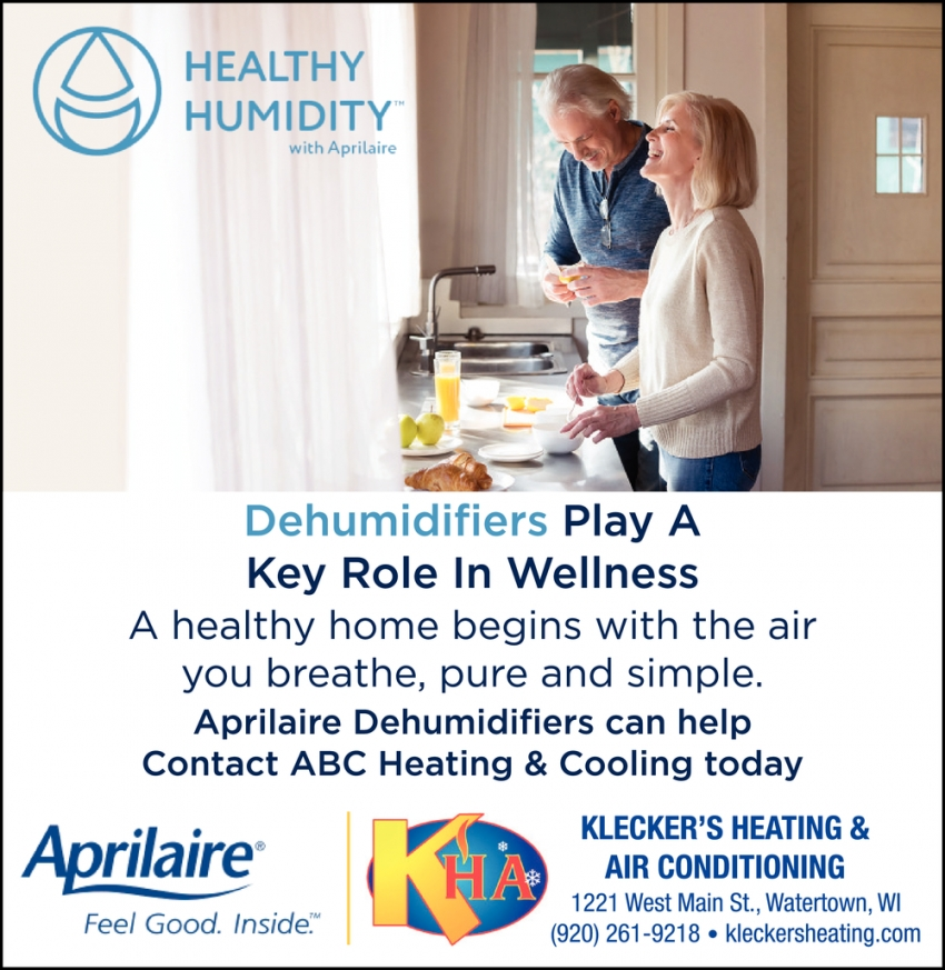 Dehumidifiers Play A Key Role in Wellness