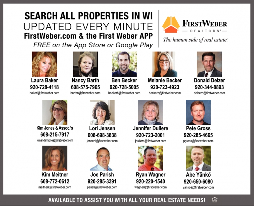 Search All Properties in WI Updated Every Minute!