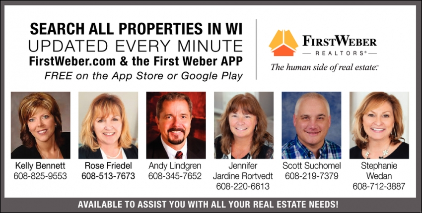 Search All Properties in WI Updated Every Minute