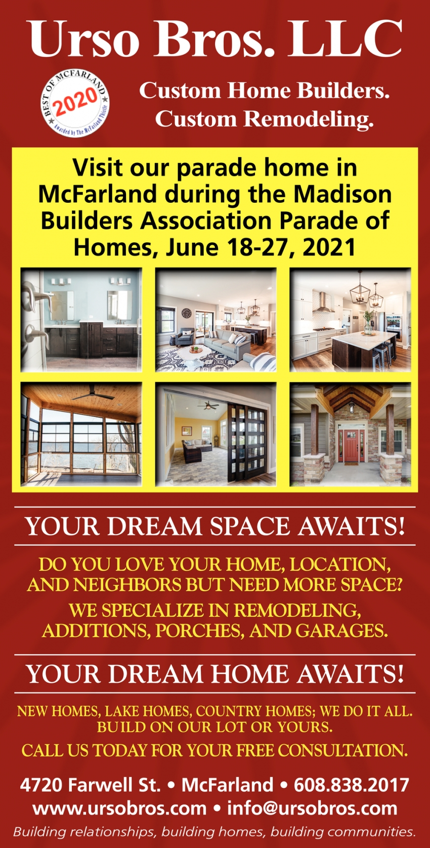 Your Dream Space Awaits!