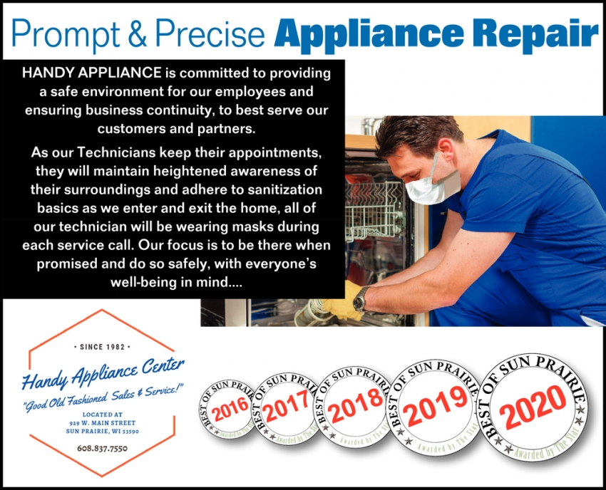 Prompt & Precise Appliance Repair