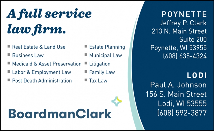 A Full Service Law Firm