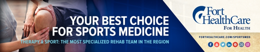 Your Best Choice for Sports Medicine