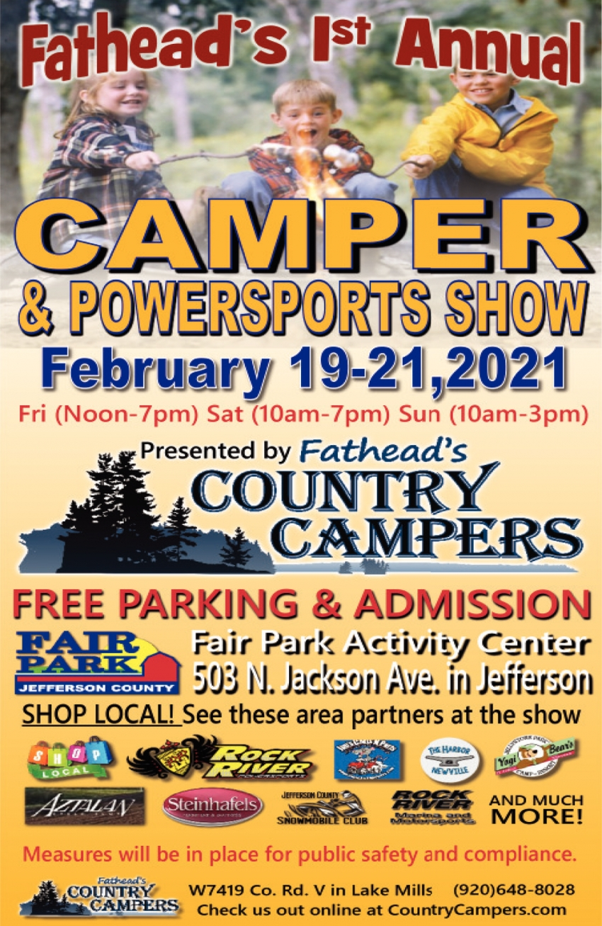 Fathead's 1st Annual Camper & Powersports Show