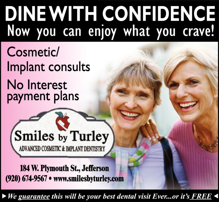 Dine with Confidence