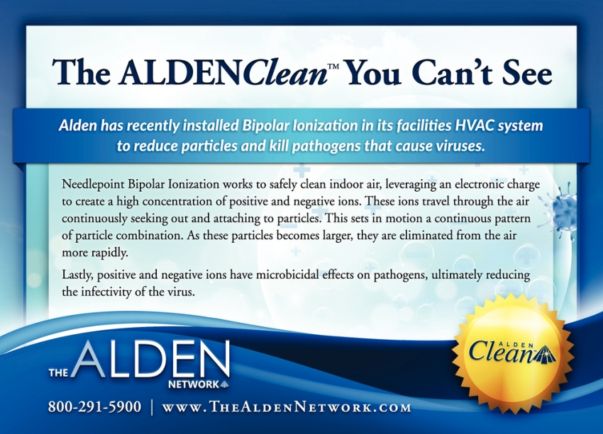 The ALDENClean You Can't See