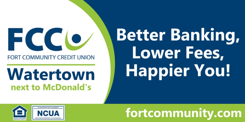 Better Banking, Lower Fees, Happier You!