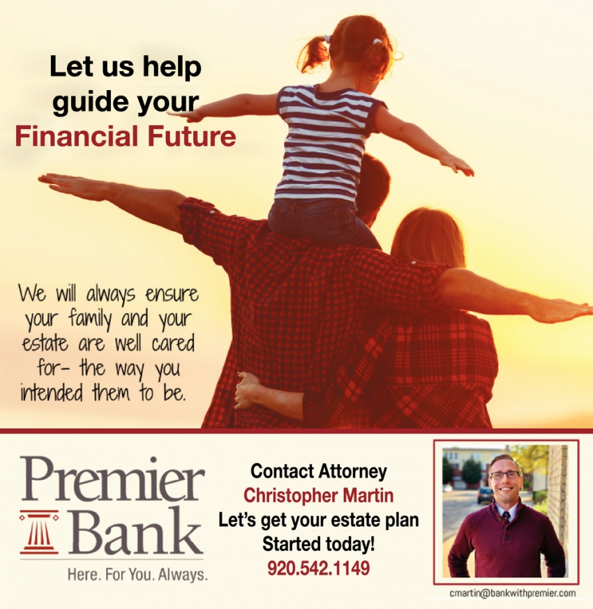 Let Us Help Guide Your Financial Future