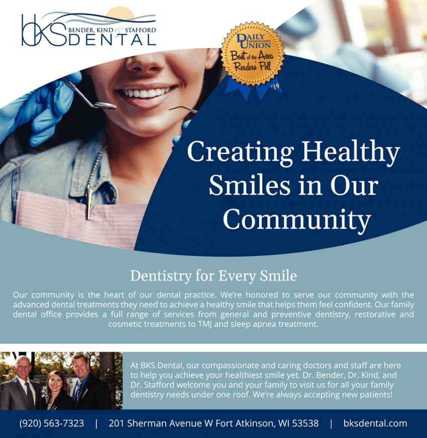 Creating Healthy Smiles in Our Community