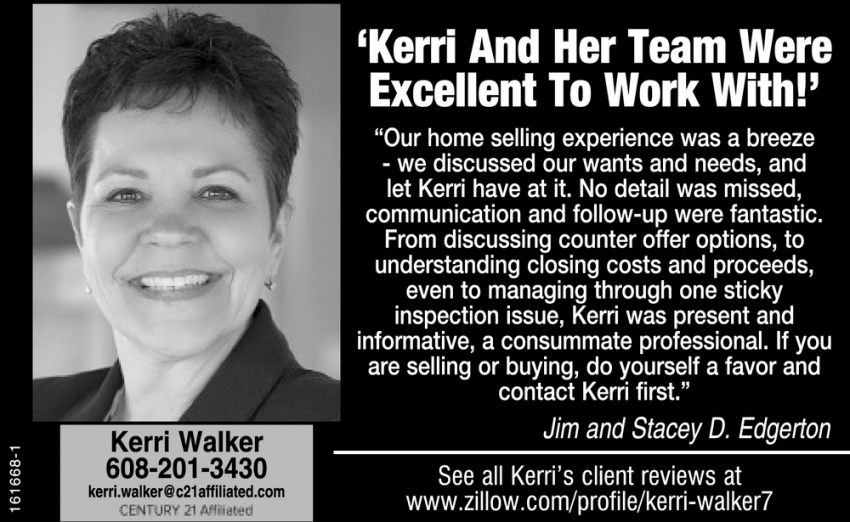 'Kerri and her Team Were Excellent to Work With!'