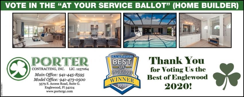Best Of Englewood, Porter Contracting, Inc, Englewood, FL