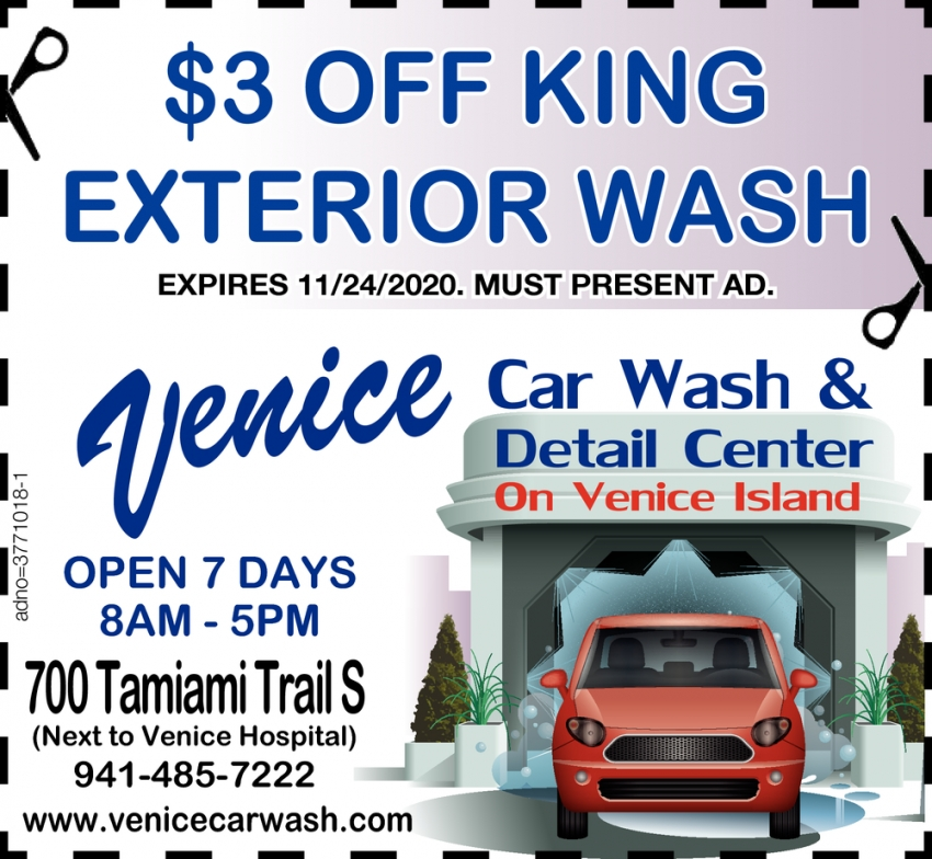$3 OFF King Exterior Wash