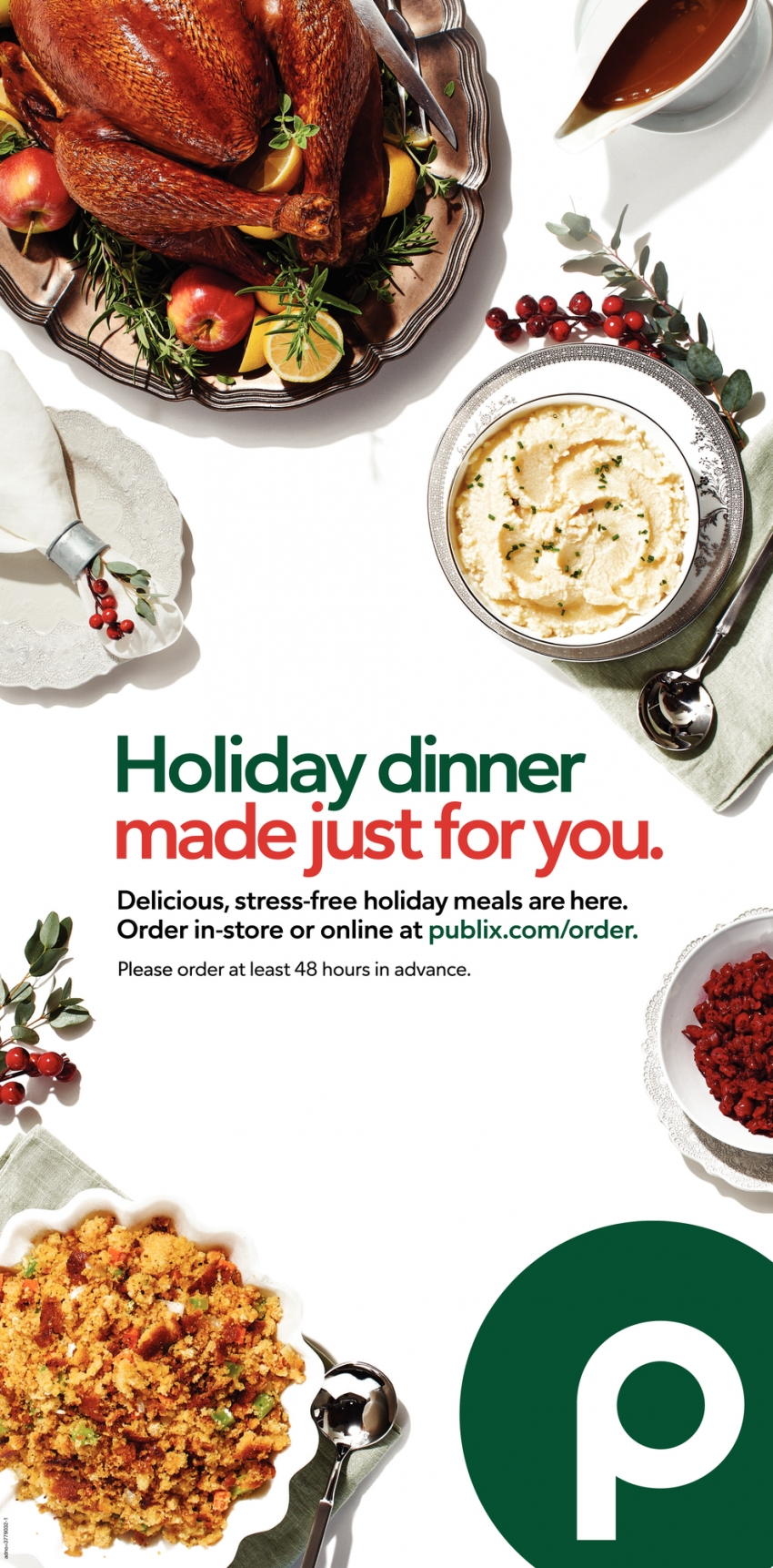 Holiday Dinner Made Just for You