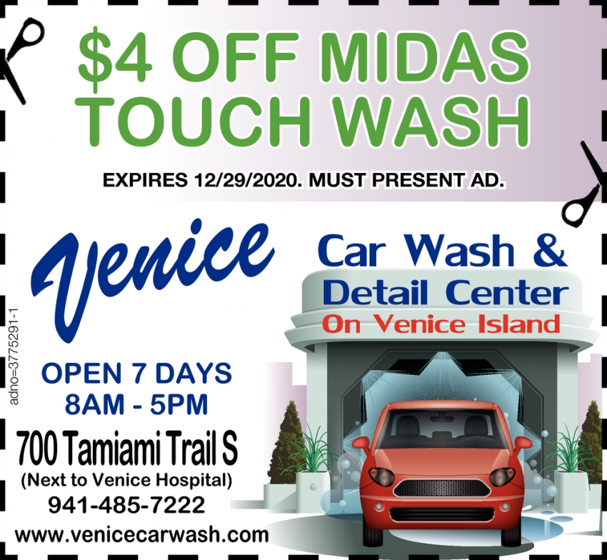 $4 OFF Midas Touch Wash