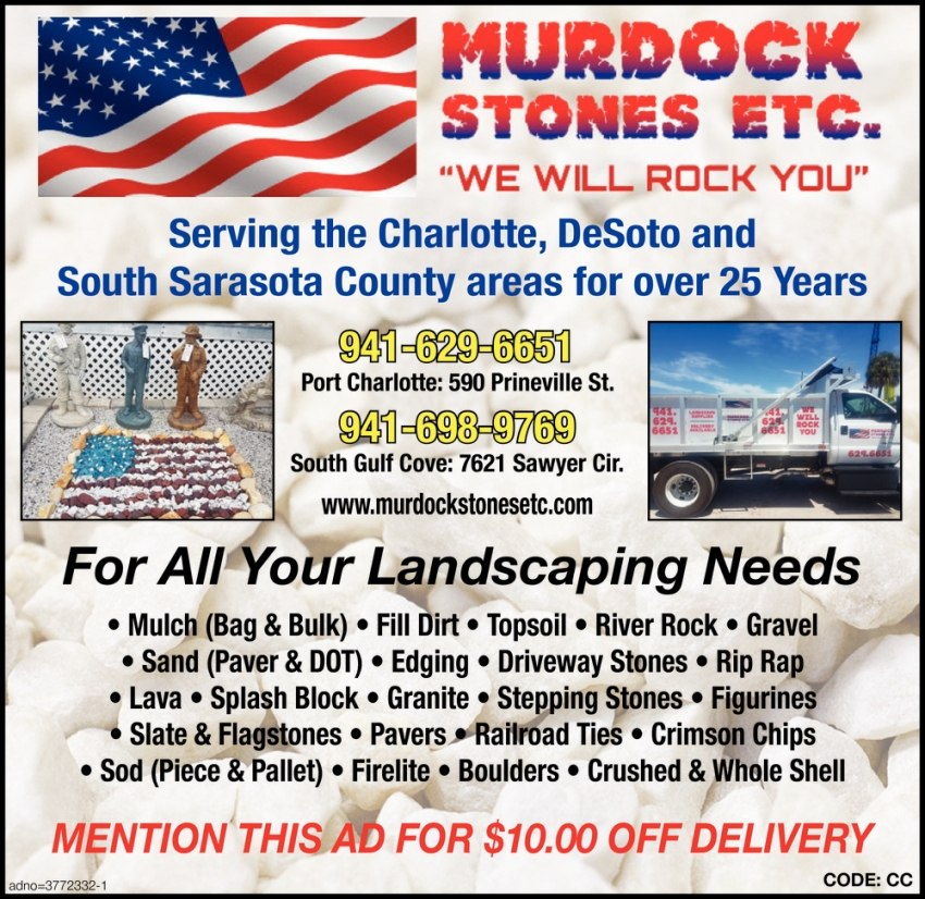 For All Your Landscaping Needs