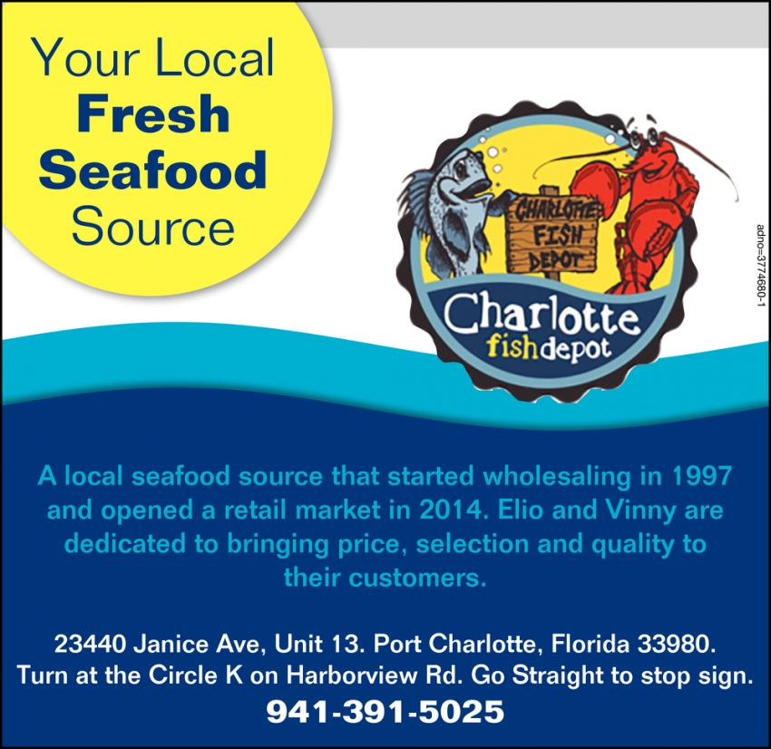 Your Local Fresh Seafood Source