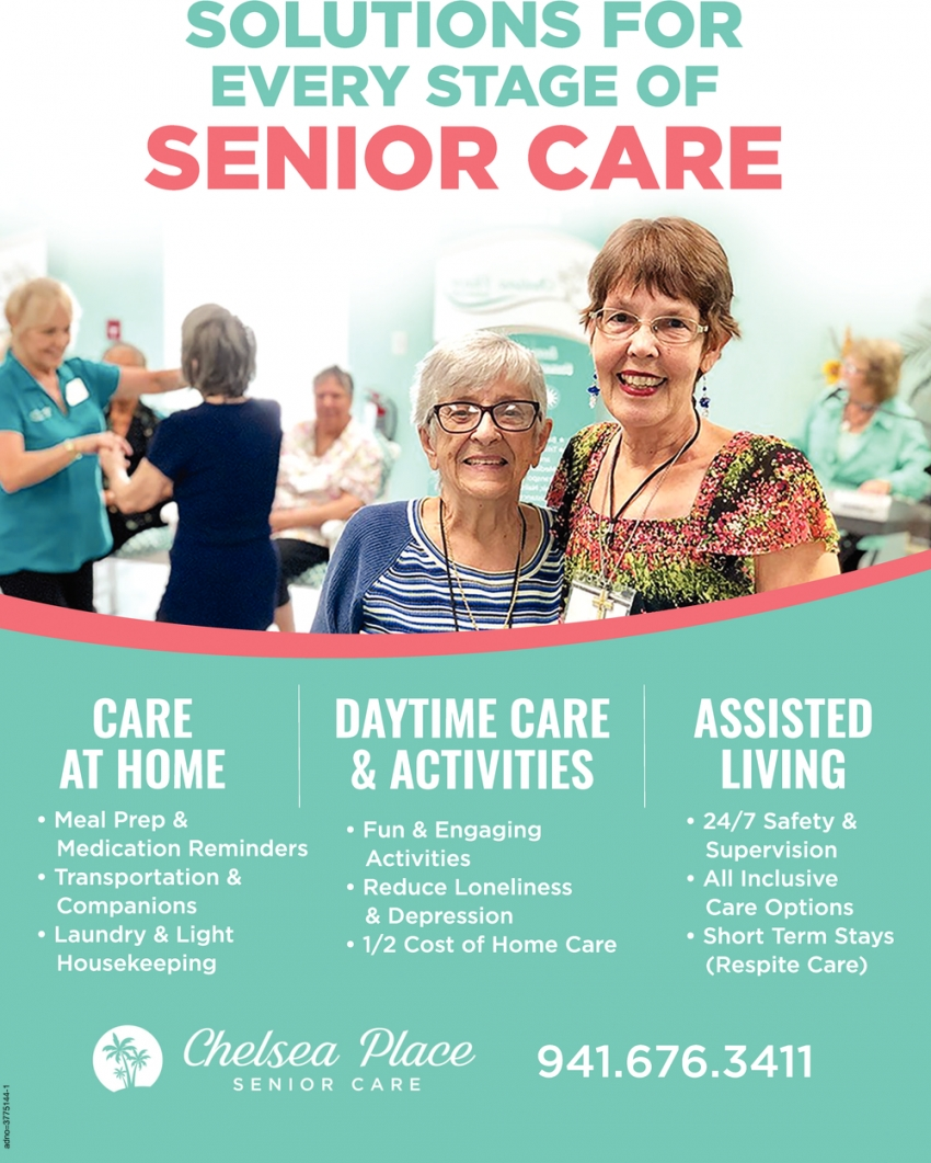 Solutions for Every Stage of Senior Care