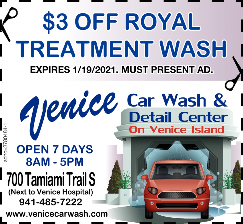 $3.00 OFF Royal Treatment Wash