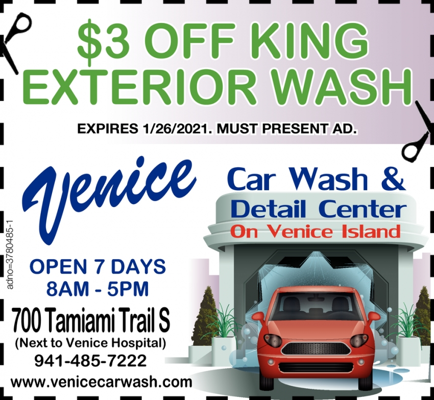 $3.00 OFF King Exterior Wash