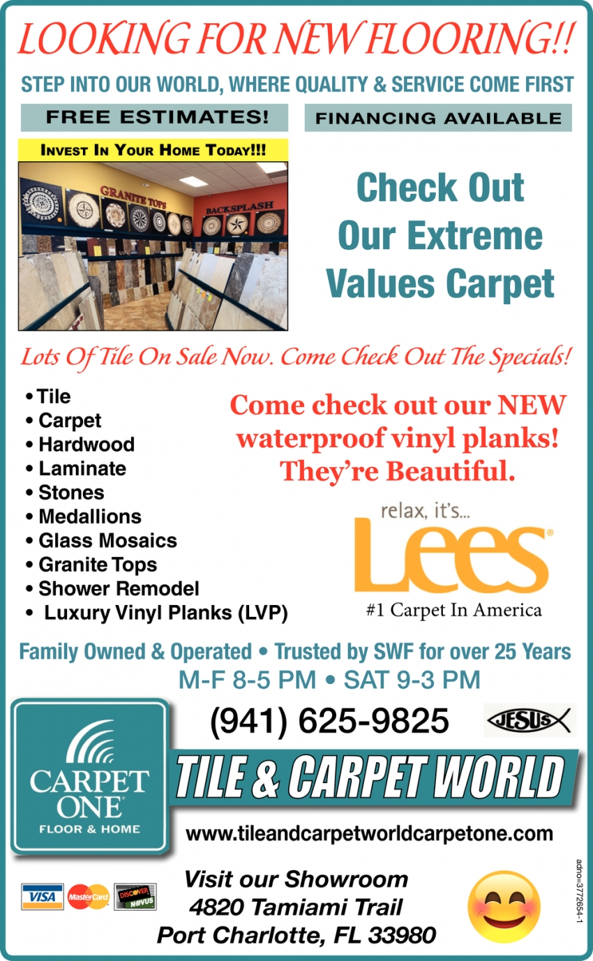 Looking For New Flooring!!