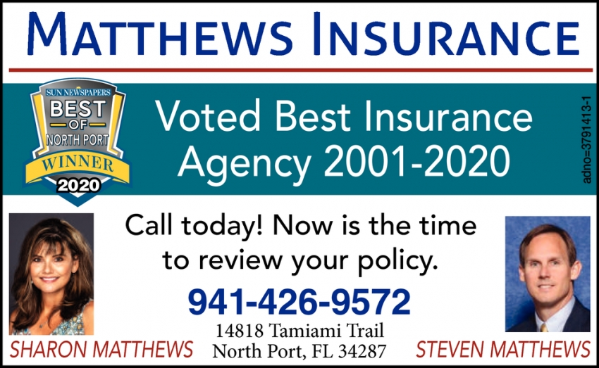 Voted Best Insurance