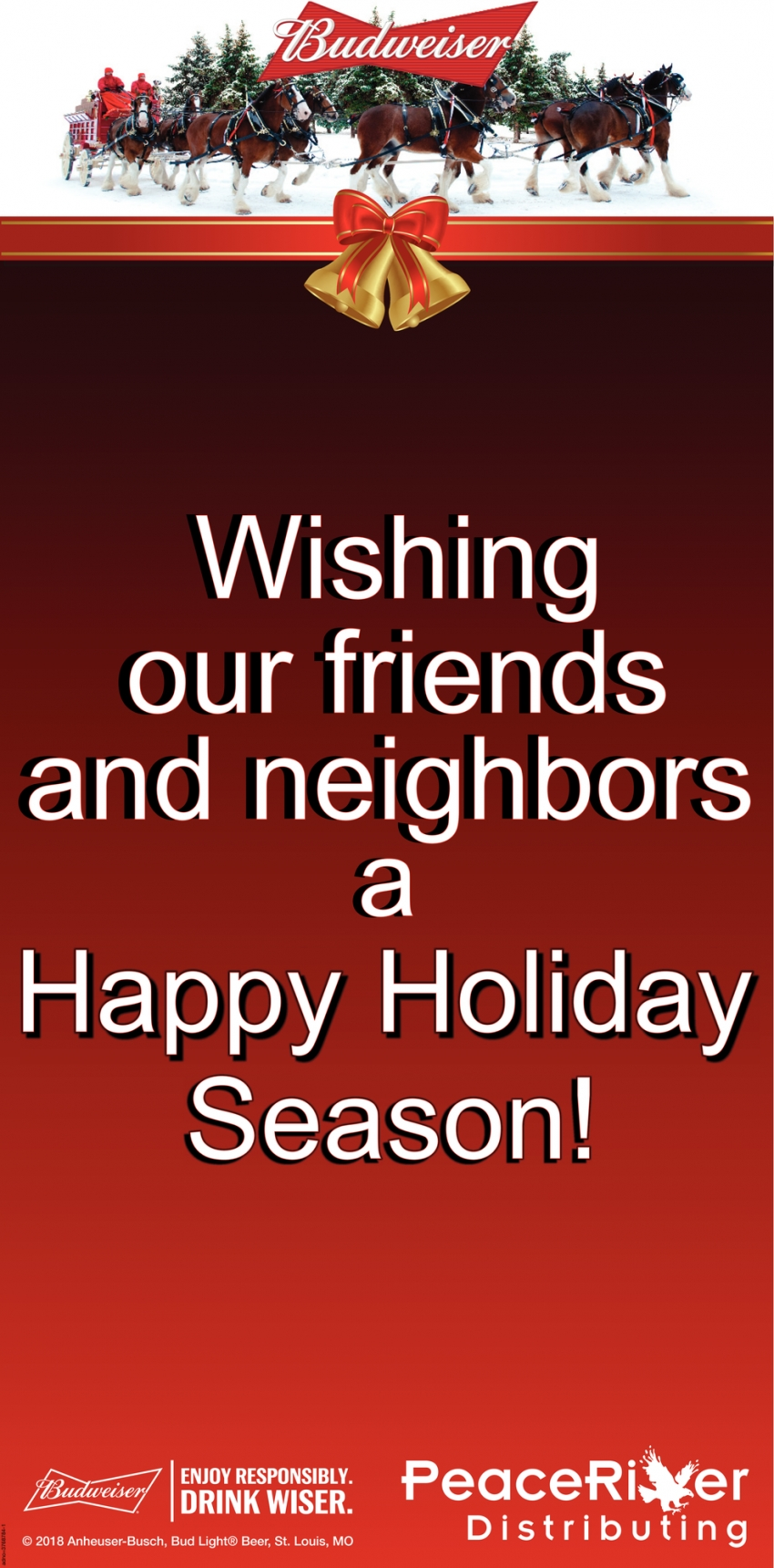 Wishing Our Friends and Neighbors a Happy Holiday Season!
