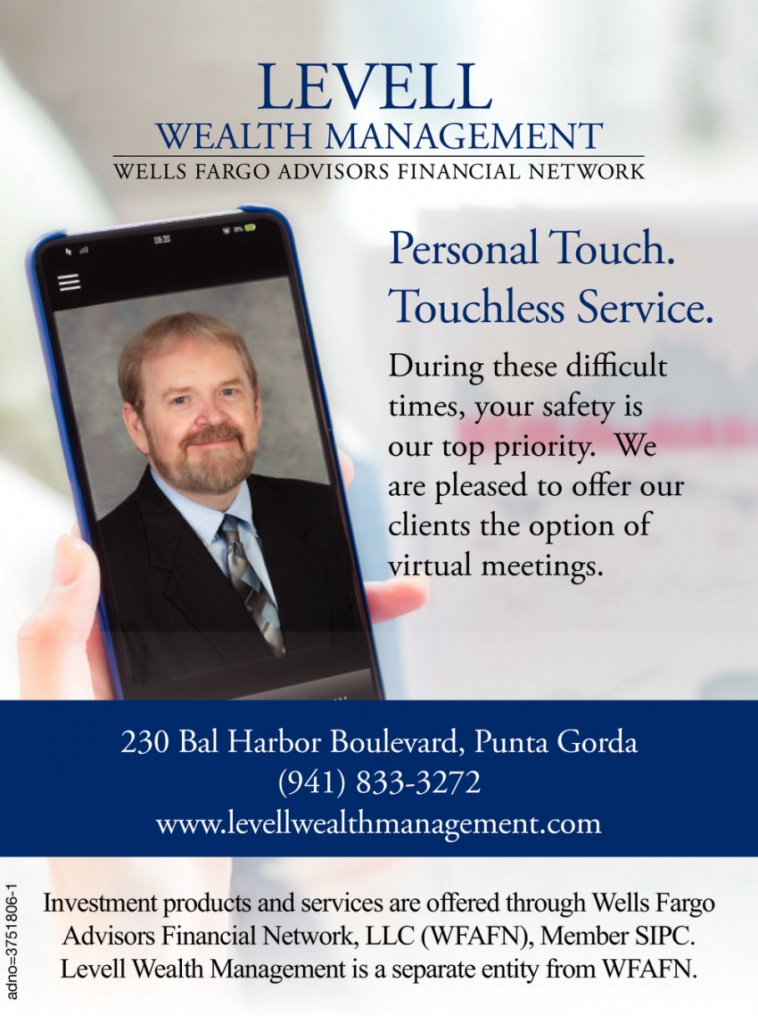 Personal Touch. Touchless Service