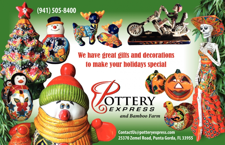 We Have Great Gifts and Decorations to Make Your Holidays Special