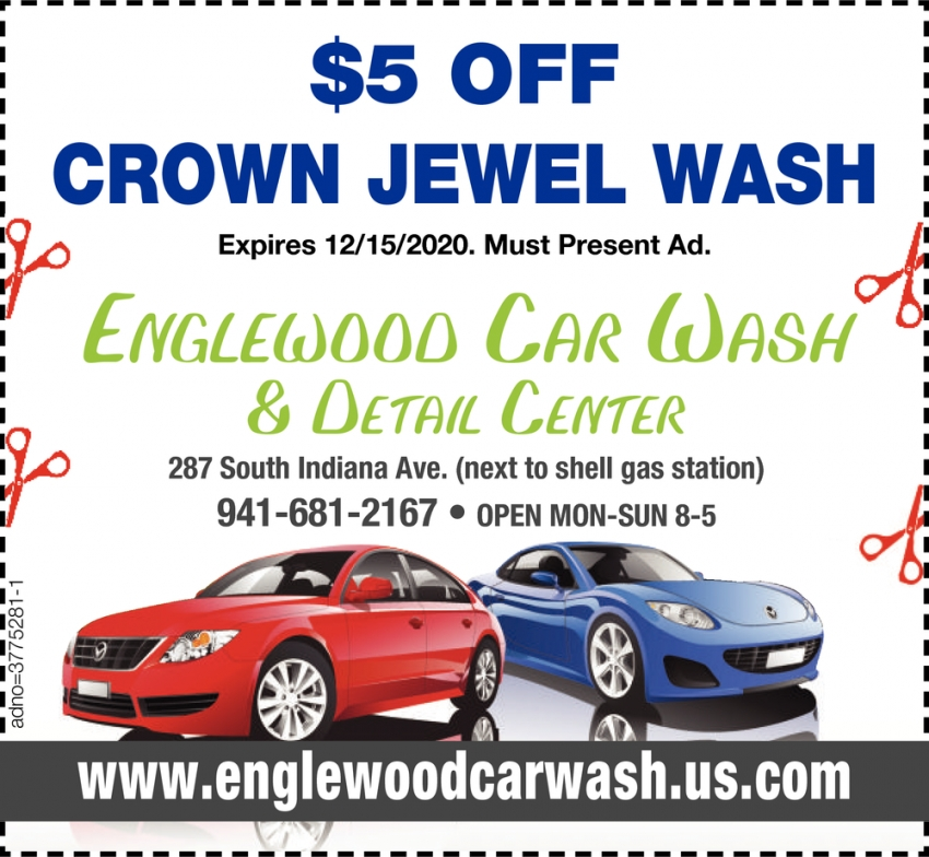 $5 OFF Crown Jewel Wash