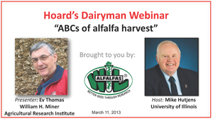 March 2013 Hoard's Dairyman webinar