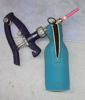 bottle cooler blocks light