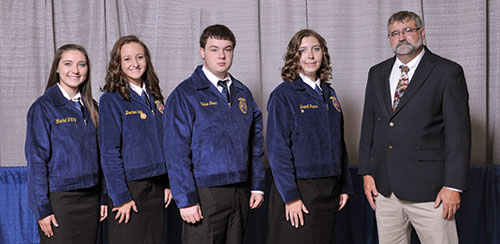 2012 FFA Milk Quality and Products Team Champions from Kansas