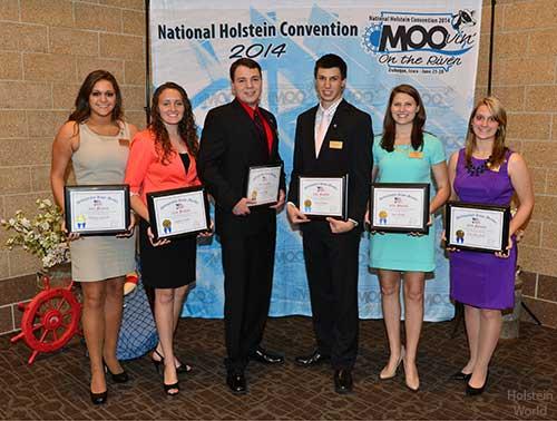 2014 National Distinguished Junior Holstein Members