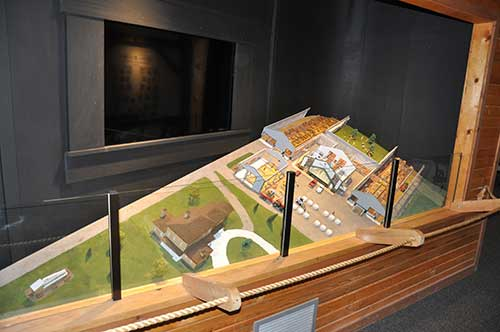 new video display at National Dairy Shrine museum