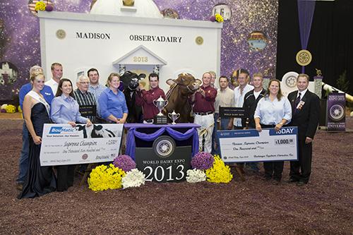 Supreme Champion 2013 World Dairy Expo