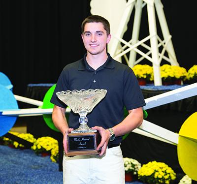 Jared Dueppengiesser is Merle Howard Award winner