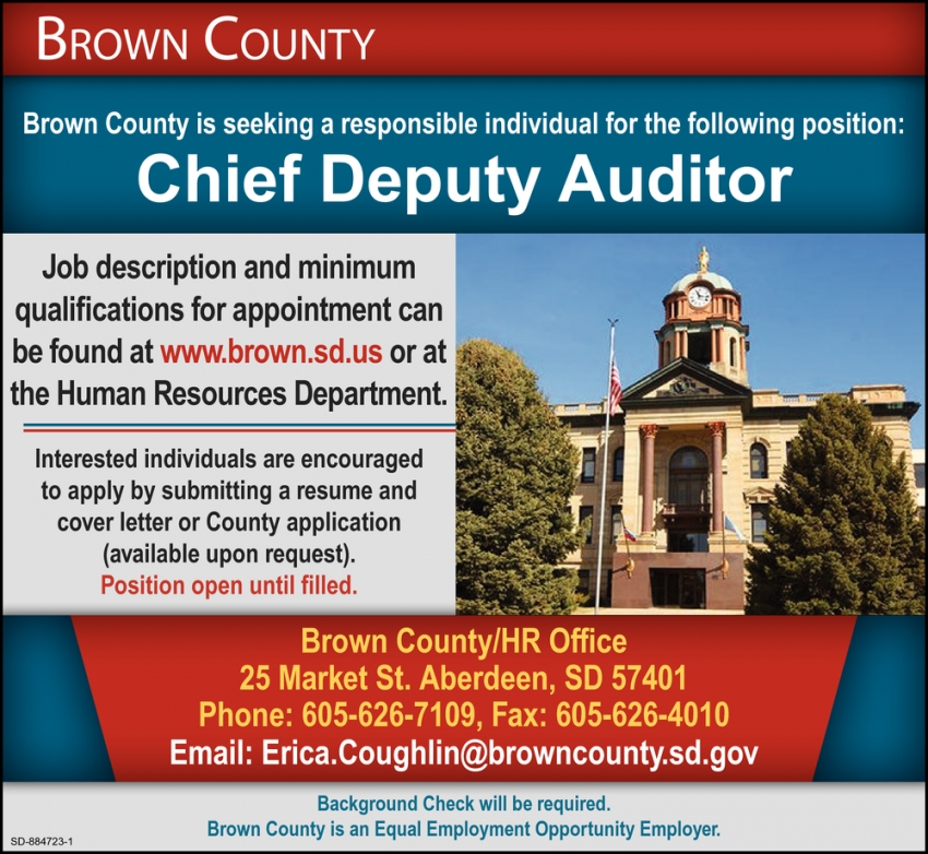 Chief Deputy Auditor