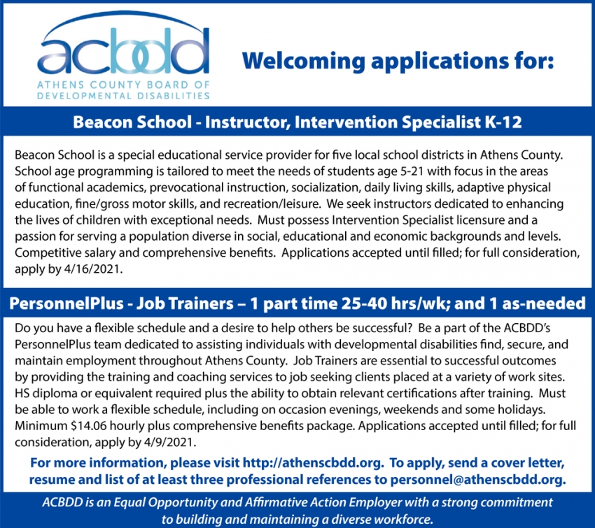 Beacon School - Instructor Specialist