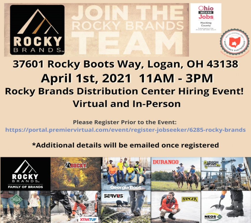 Join The Rocky Brands Team