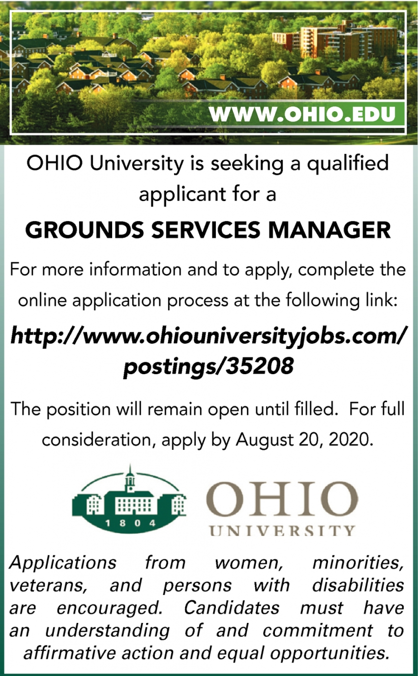 Grounds Service Manager Needed