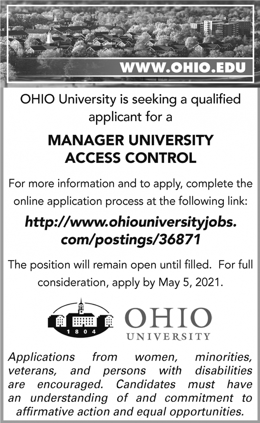 Manager University Access Control