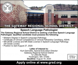 Speech Language Pathologist