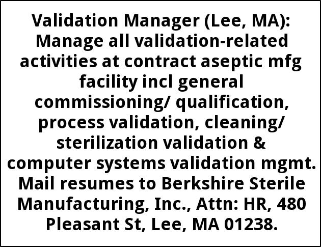Validation Manager